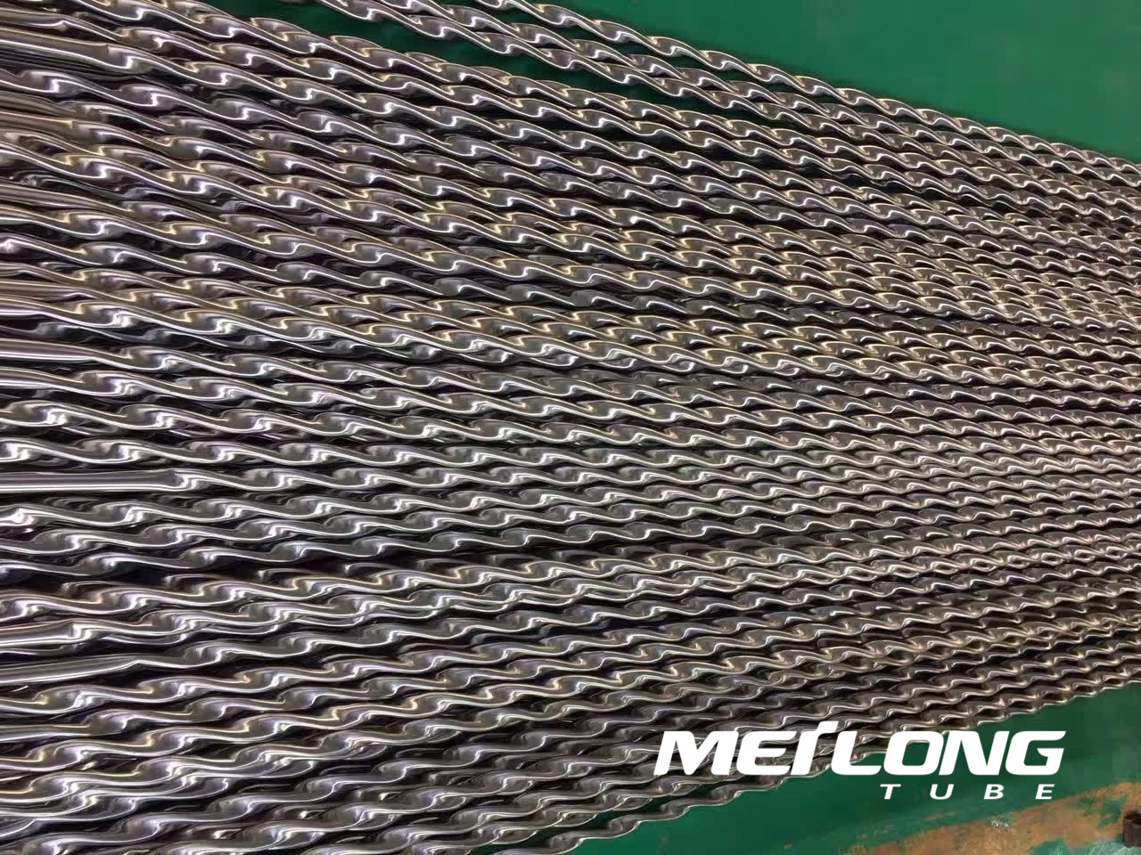 Stainless Steel Twisted Tube for Heat Exchanger,
