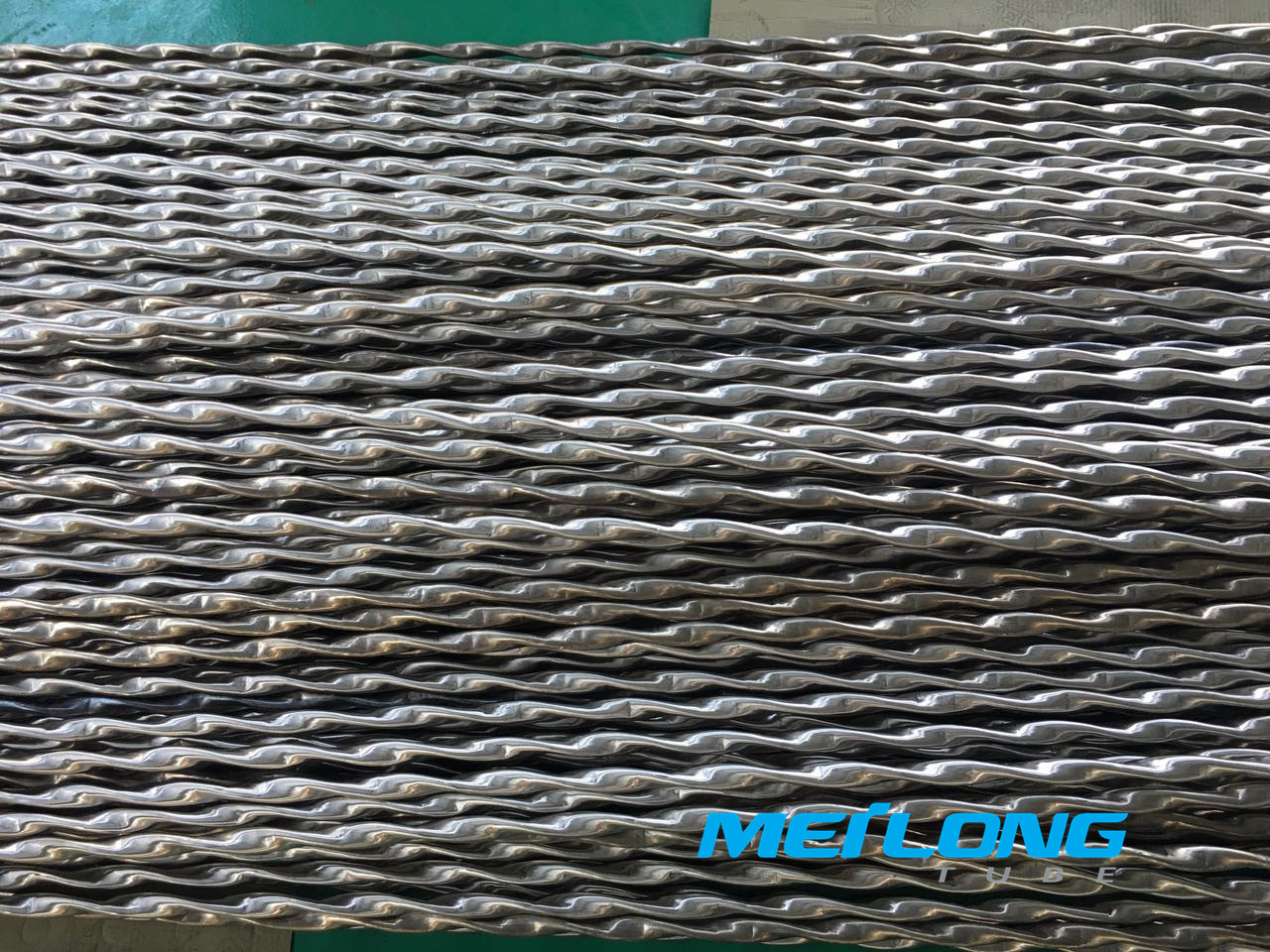 Twisted Stainless Steel Tube for Tube & Sheel Heat Exchanger,