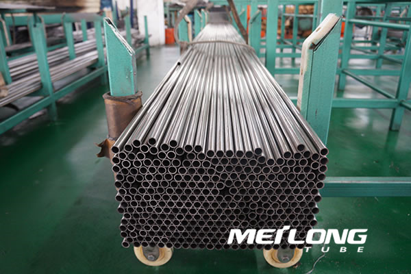 EN10305-4 Cold drawn precision seamless steel tube for hydraulic line,