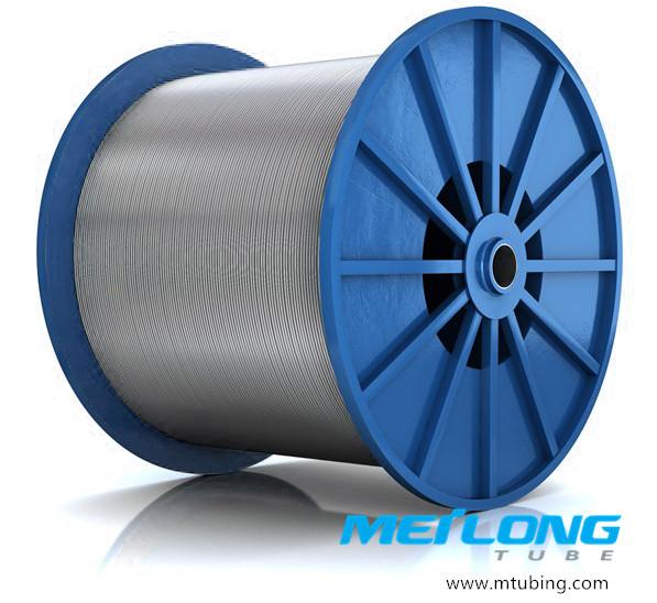 Duplex 2205 Downhole Seamless Hydraulic Control Line Tubing,
