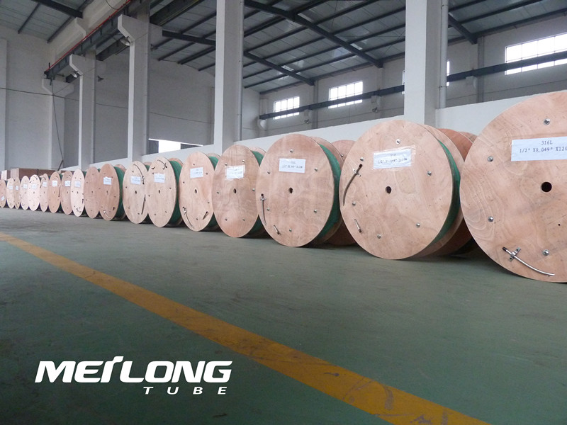 Inconel 625 Downhole Seamless Hydraulic Control Line Tubing,
