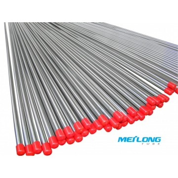 TP304L precision seamless stainless steel hydraulic tube