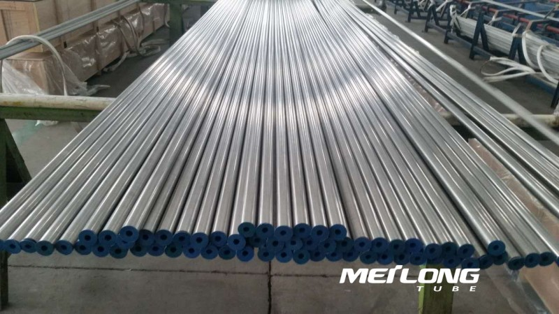 TP316 precision seamless stainless steel tube, OD8mm x WT2mm x Length 6000mm