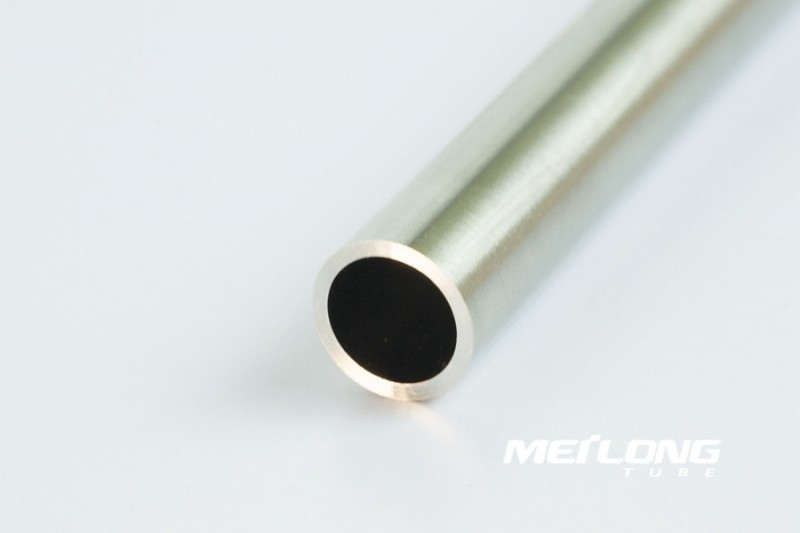 TP316 precision seamless stainless steel instrument tube, OD8mm x WT2mm x Length 6000mm