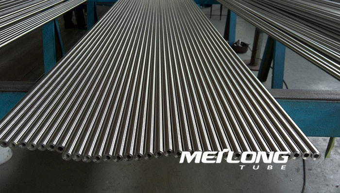 TP316L precision seamless stainless steel tube, OD8mm x WT2mm x Length 6000mm