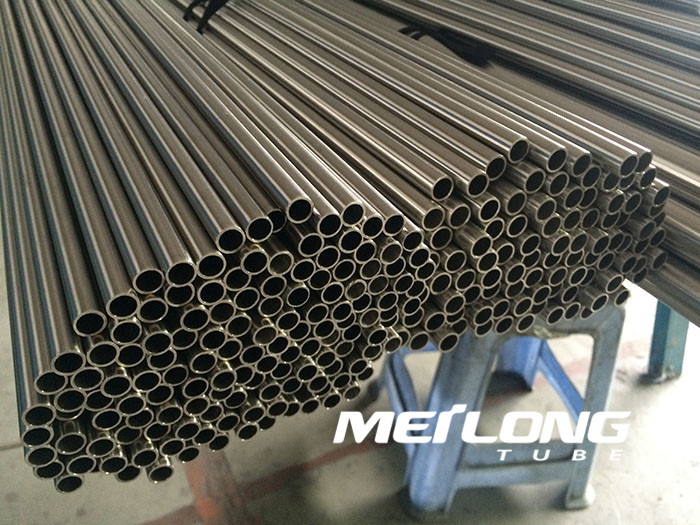 TP316L precision seamless stainless steel hydraulic tube, OD8mm x WT2mm x Length 6000mm