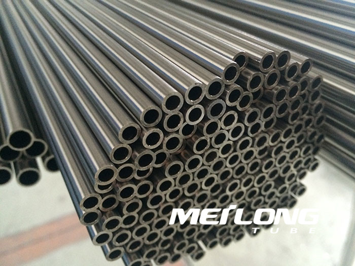 TP316L precision seamless stainless steel hydraulic line tube, OD8mm x WT2mm x Length 6000mm
