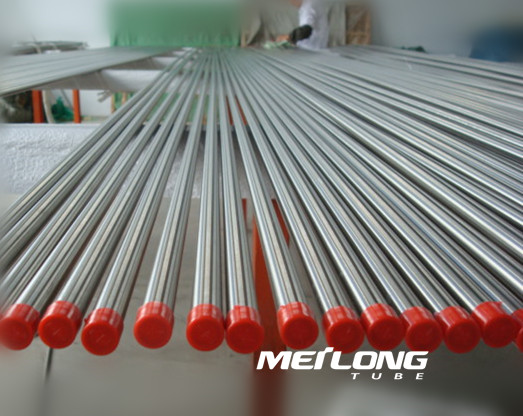 TP316L precision seamless stainless steel instrument tube, OD8mm x WT2mm x Length 6000mm