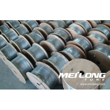 TP316L stainless steel downhole capillary tubing