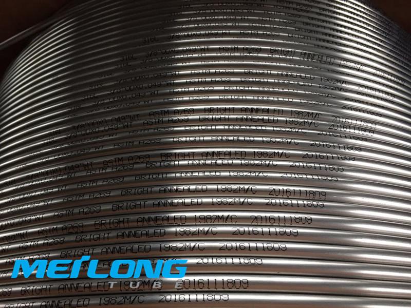 S31603 downhole capillary tube,