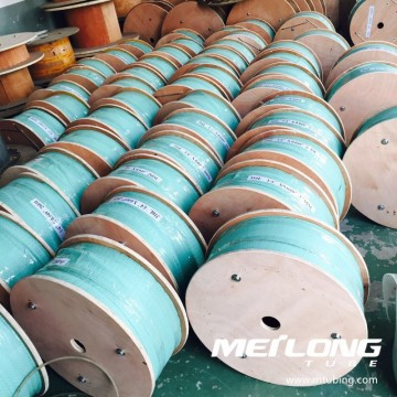 S31603 downhole capillary coiled tubing